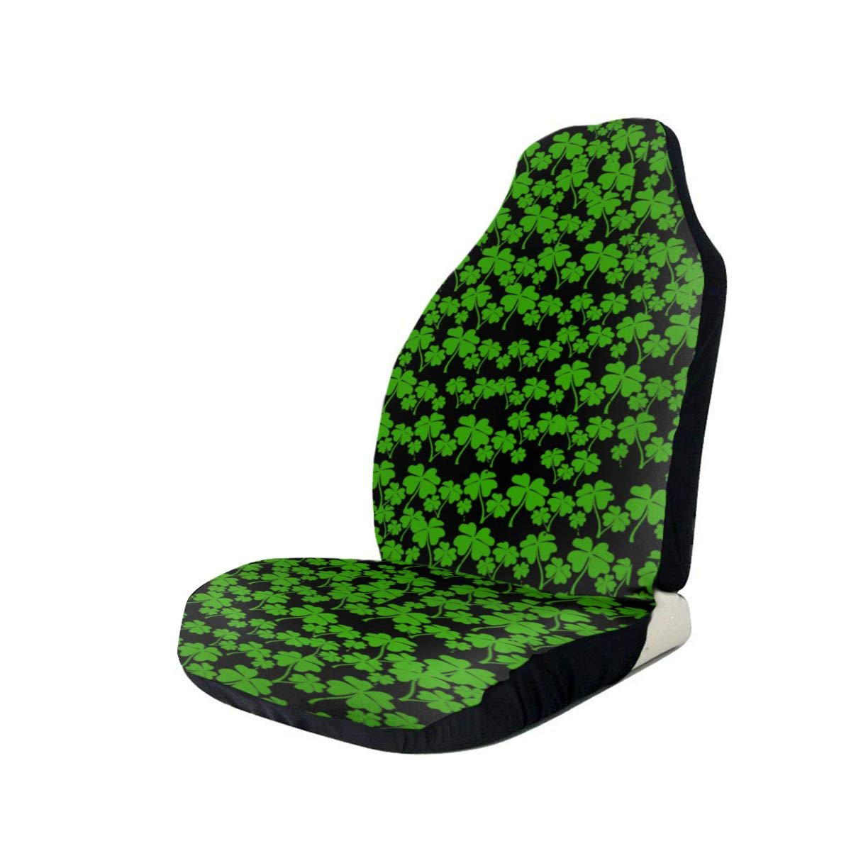 Max 75% OFF Clovers Car Seat Covers for Universal Printing Vehicles 3D Cheap super special price S