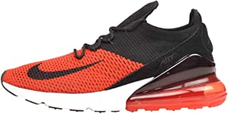 Men's Air Max 270 Flyknit Fashion Sneakers (10, Chili...