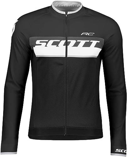 Scott RC AS Maillot de Cyclisme d'hiver Noir Blanc Taille XXL (58)