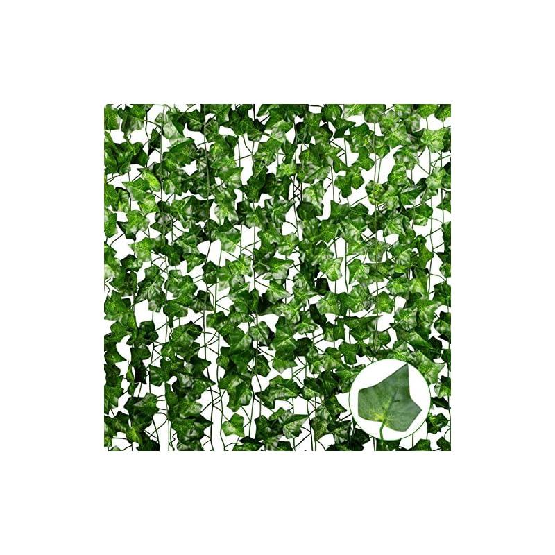 silk flower arrangements anoak artificial ivy garland fake ivy vine for decoration…