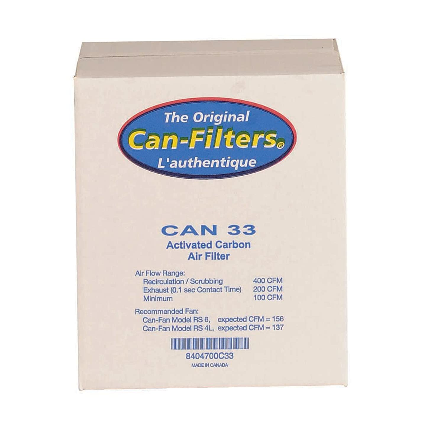 Can 33 Carbon Filter With Prefilter, Flange Sold Separately jonjrbbbofvgd2