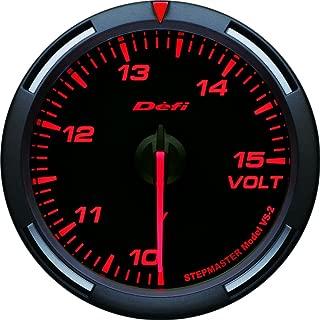 Defi DF11902 Racer Voltage Gauge, Red, 60mm