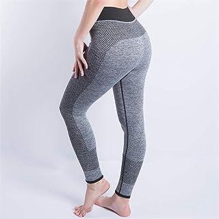 Pantalones De Yoga,Seamless Moda Mujer Pantalones De Yoga Fitness Caderas Elevación Leggings Pantalones De Yoga Profesión Entrenar Deportes Ejecuta Leggings Gimnasio Desgaste Lápiz Slim Pantalón