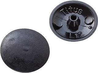 Best black screw cap covers Reviews