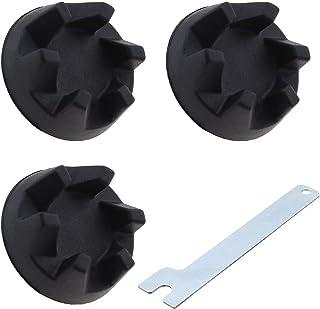 3 st 9704230 blandare koppling utrustning gummikoppling koppling svart och borttagningsverktyg kompatibel med KitchenAid K...