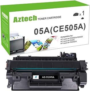 Aztech Compatible Toner Cartridge Replacement for HP 05A CE505A Laserjet P2035 P2035N P2055DN (Black, 1-Pack)
