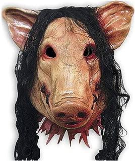Halloween mask/Pig Mask Unisex Halloween Fancy Dress Costume Cosplay happyL