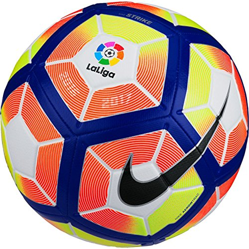 Nike Liga BBVA 2016/2017 Strike Football - Balón de fútbol, tamaño 5, color multicolor