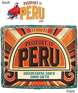 Passport to Peru Iron-On Transfers (Pkg. of 10) (Group Cross Culture Vbs 2017)