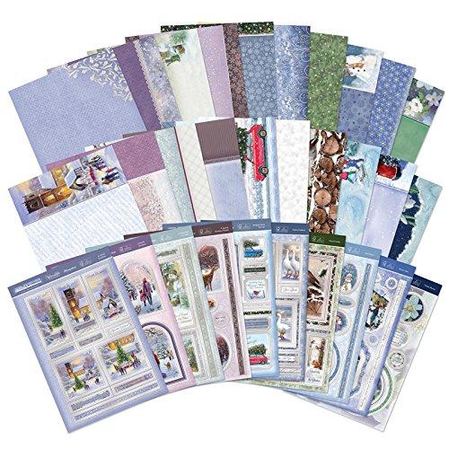 Colección de tarjetas de Navidad de lujo de Hunkydory
