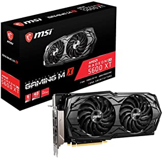 ساعة MSI Gaming Radeon RX 5600 XT Boost Clock: 1620 MHz 192-bit 6GB GDDR6 DP/HDMI Dual Torx 3.0 Fan Freesync DirectX 12 Re...