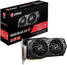MSI Gaming Radeon RX 5600 XT Boost Clock: 1620 MHz 192-bit 6GB GDDR6 DP/HDMI Dual Torx 3.0 Fans Freesync DirectX 12 Ready ...