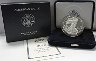 2010 W American 1 oz Silver Eagle Dollar PROOF US Mint