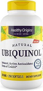 海外直送品Ubiquinol (Kaneka QH), 200 mg, 150 soft gels by Healthy Origins