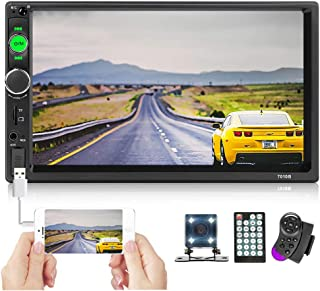 $48 » Double Din Car Stereo 7'' Touch Screen 2 Din Car Radio Bluetooth FM Radio with USB AUX-in/TF/SD Card Port Car Multimedia P...