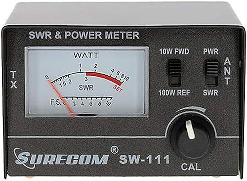 Mcbazel Surecom SW-111 100 Watt SWR/Power Meter for CB Radio Antenna