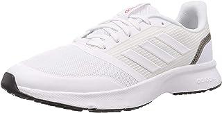 حذاء نوفا فلو للرجال من أديداس, (ftwr white/ftwr white/grey six), 42 EU