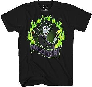 Maleficent Fire Flame Villain Sleeping Beauty Mens T-Shirt