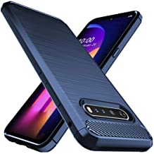 Osophter for LG V60 ThinQ Case,LG V60 Case Shock-Absorption Flexible TPU Rubber Full-Body Protective Phone Cover for LG V6...