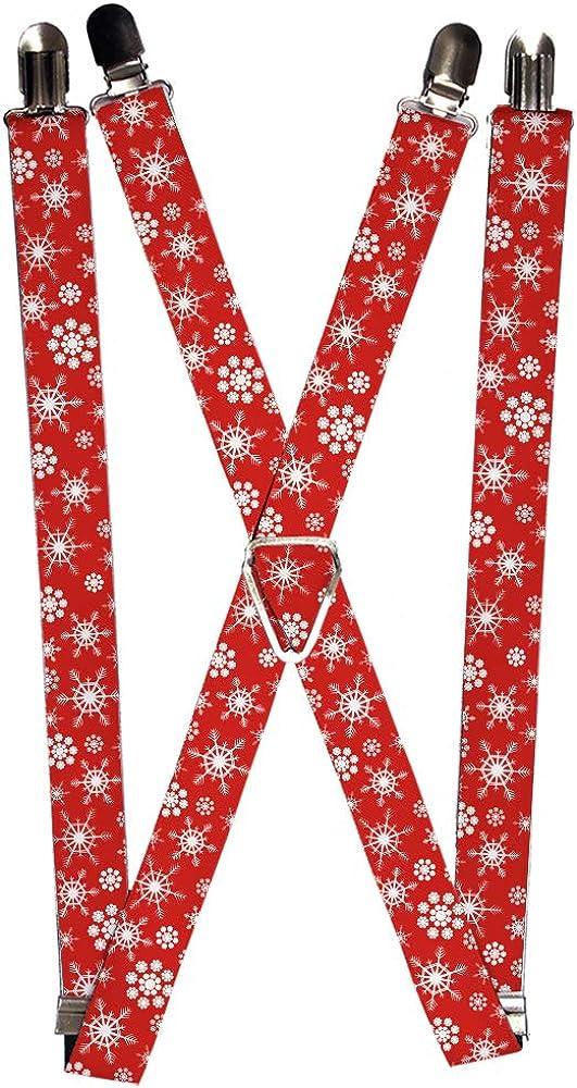 Buckle-Down Suspender - Snowflakes