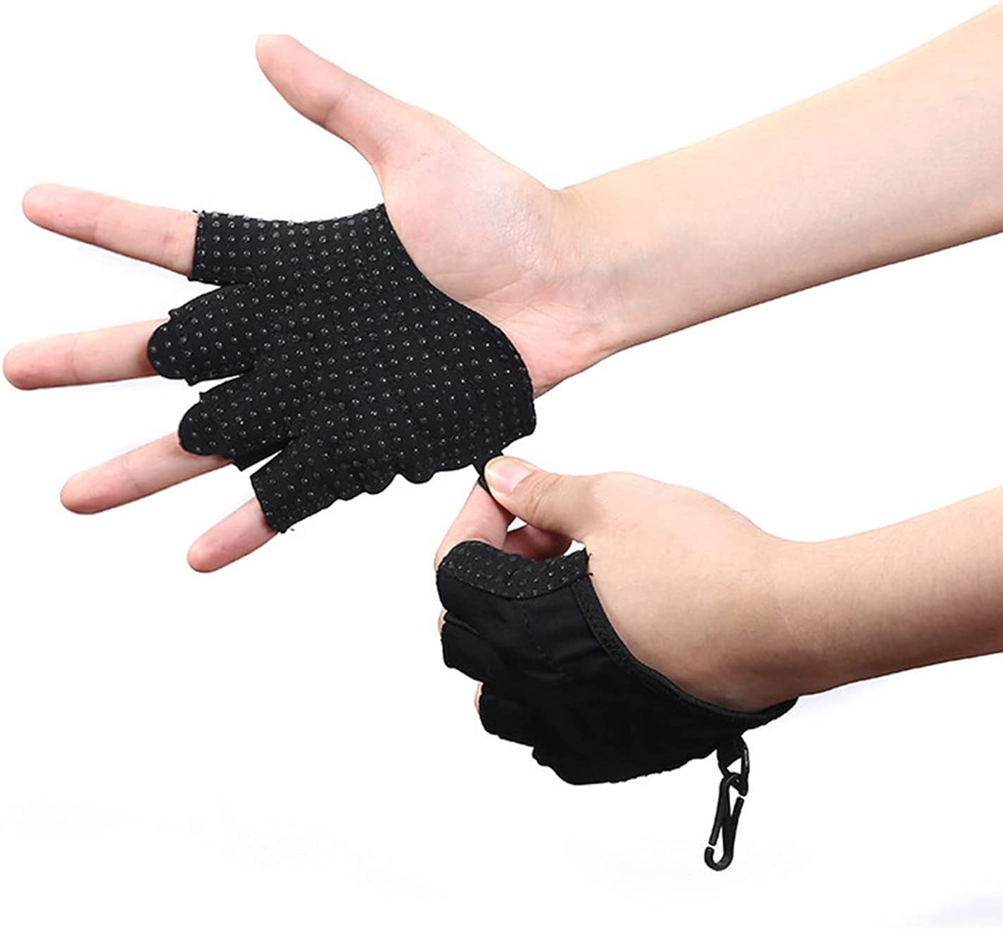 OhhGo Men Women Weightlifting Gym Popular shop is the lowest price challenge Workout for Chicago Mall Gloves Slip Anti-
