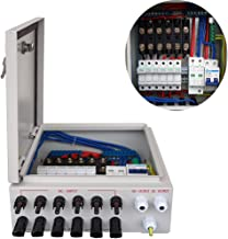 ECO LLC 6 String PV Combiner Box for Solar System