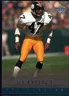 Football NFL 2000 Upper Deck Legends #61 Mel Blount Steelers