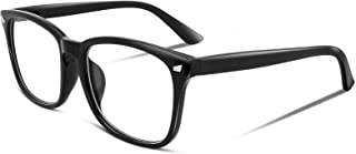 FEISEDY Square Glasses Frame Classic Eyeglasses Clear Lens Eyewear for Women Men B2286
