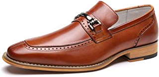 Men's Genuine Leather Oxford Shoes Business Dress Shoes for Men