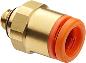 SMC KQ2H07-32A Brass Push-to-Connect Tube Fitting, Adapter, 1/4