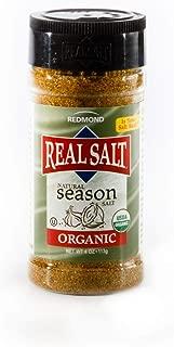 Redmond Real Sea Salt - Natural Unrefined Organic Gluten Free, Seasoning 4.1 Ounce Shaker …