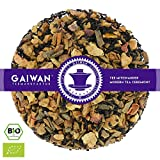 Núm. 1105: Té negro orgánico 'Manzana y canela' - hojas sueltas ecológico - 250 g - GAIWAN® GERMANY - manzana, cassia, té negro de China