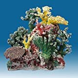 Instant Reef DM057 Artificial Coral Inserts Decor, Fake Coral Reef Decorations for Colorful Freshwater Fish Aquariums, Marine and Saltwater Fish Tanks