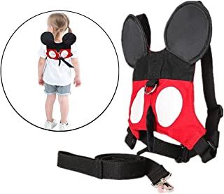 Ymeibe Baby Toddler Harness for Walking Safety Belt Harness with Leash Kids Anti-Lost Assistant Strap for 1-5 Years Old Boys and Girls