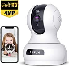 4MP Wireless Security Camera, Lefun WiFi Baby Monitor Surveillance IP Camera with Sound..