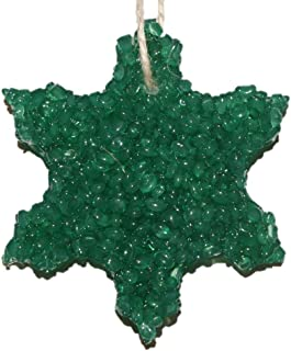 ChicWick Car Candle Balsam Fir Snowflake Shape Car Freshener Fragrance, Pine Scent