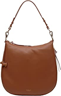 Pudding Lane Zip-Top Large Leather Hobo