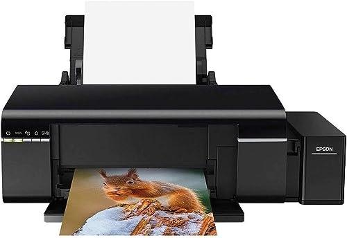 Impressora Epson EcoTank L805 - Tanque de Tinta Fotográfica, 6 cores, Wi-Fi, 110V