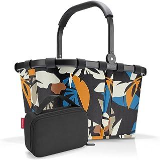 reisenthel, Set aus carrybag BK, thermocase OY, SBKOY, Einkaufskorb mit Kleiner Kühltasche, Frame Miami Black + Black