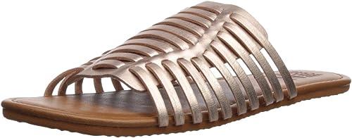 Billabong Billabong Wohommes Tread Lightly Flat Sandal, Rose or, 8 M US  livraison directe et rapide