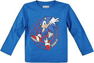Sonic The Hedgehog Baby /& Kinder T-Shirt grau meliert