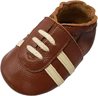 YIHAKIDS Baby Sneaker Genuine Moccasins Soft Suede Sole Toddler Shoes Multi-Colors