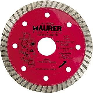 Maurer 9090015 Muela de corind/ón 100 x 20 x 13 mm grano 80
