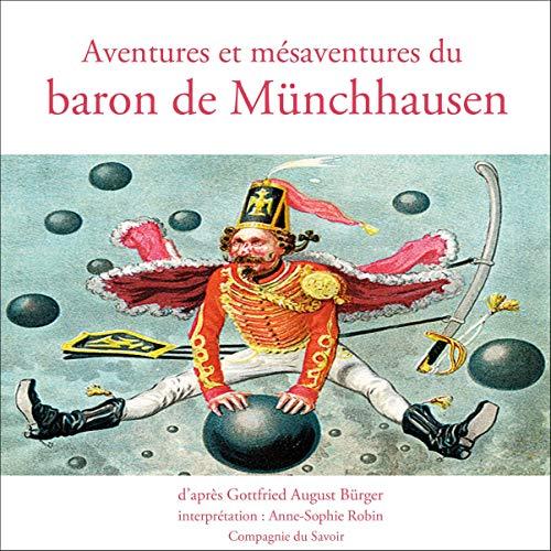 Aventures et mésaventures du baron de Münchhausen Titelbild