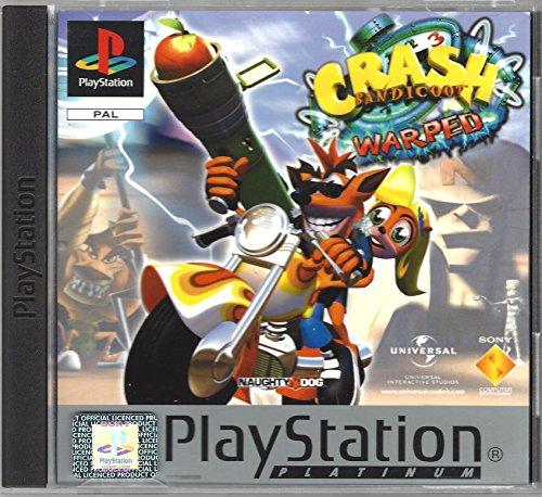 Crash Bandicoot 3 Warped Platinum PS1 Playstation 1