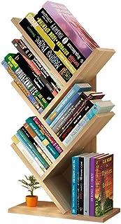 vertice 便利な家庭用収納ホルダー ブックケース オフィス ツリー型 本棚 シンプルな本棚 子供用デスクトップ収納ラック コンピューターテーブルラック T型 本棚