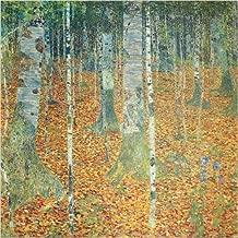 Birkenwald (Birch Forest), 1903 Art Print Poster by Gustav Klimt
