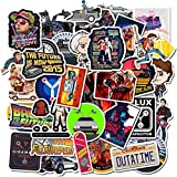 Back to The Future Sticker Pack of 50 Stickers - Film Stickers for Laptop, Funny Stickers for Laptops, Computers, Hydro Flasks, Water Bottles (Back to The Future)