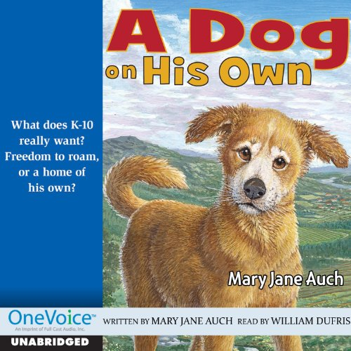 A Dog on His Own audiobook cover art