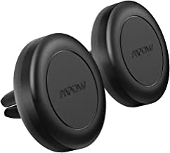 Mpow Car Magnetic Mount, [2 PACK] Air Vent Magnet Car Phone Holder, Easy to Install and Remove, No Sticking Marks, Car Phone Mount Compatible iPhone 11 Pro/XS/XR/X/8/8Plus, Galaxy S10/S9/S8/S7 etc